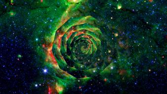 Outer space stars nasa nebulae spiral trippy Wallpaper