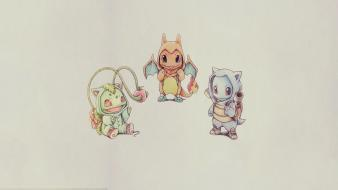 Pokemon bulbasaur squirtle charmander Wallpaper