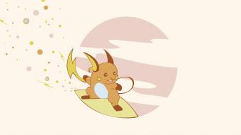 Pokemon video games surfing raichu wallpaper