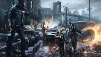 Post-apocalyptic ubisoft artwork the division wallpaper