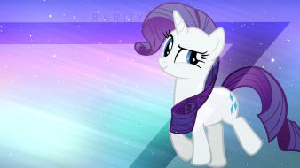 Rarity cutie mark pony: friendship is magic wallpaper