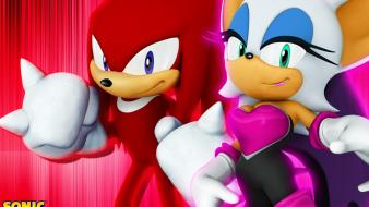 Rouge knuckles echidna bat game characters team wallpaper