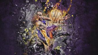 Sports nba kobe bryant lakers baskets basketball player wallpaper