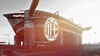 Stadium ac milan football field san siro Wallpaper