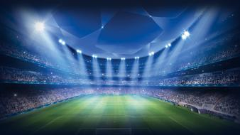 Stadium champions league football field florianchin wallpaper