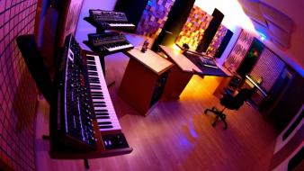 Studio room wallpaper