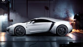 Supercars side view w motors lykan hypersport Wallpaper