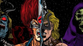 Swords he-man masters of the universe villians wallpaper