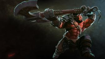 Video games artwork dota 2 axe (dota 2) wallpaper