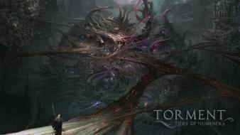 Video games artwork drawings torment: tides of numenera Wallpaper