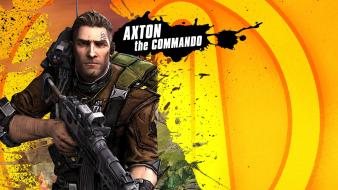 Video games commando borderlands 2 axton wallpaper