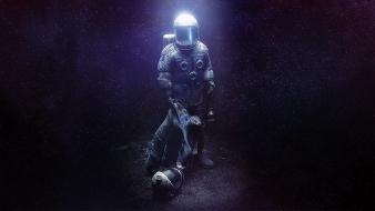 Video games outer space indie the swapper wallpaper