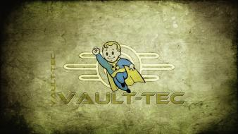 Video games vault boy fallout 3 wallpaper
