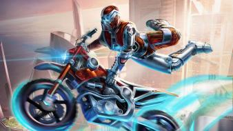 Artwork motorbikes trials fusion Wallpaper