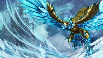 Birds hunter league of legends frost anivia games wallpaper