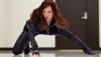 Black widow marvel comics iron man 2 wallpaper