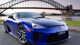 Blue cars lexus wallpaper