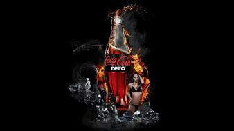 Bottles coca-cola brands wallpaper