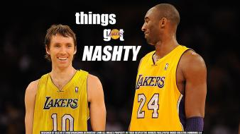 Bryant los angeles lakers steve nash player Wallpaper
