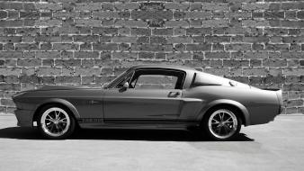 Cars ford muscle mustang eleanor silver gt500 Wallpaper