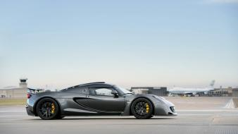 Cars hennessey venom gt airfield Wallpaper