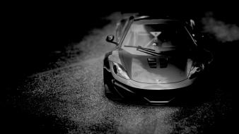 Cars monochrome wallpaper