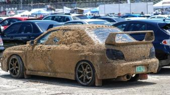 Cars mud subaru impreza wrx sti wallpaper