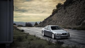 Cars roads tuning rims bmw 5er e39 tuned wallpaper