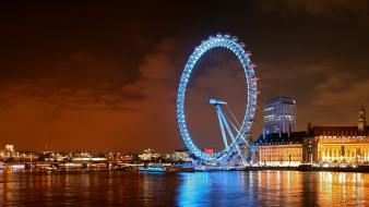 Cityscapes night london wallpaper