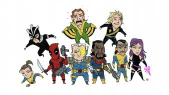 Comics x-men little marvel wallpaper