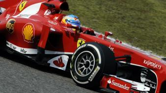 Fernando alonso racing tracks chinese gran prix wallpaper