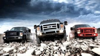 Ford trucks vehicles pickup wallpaper