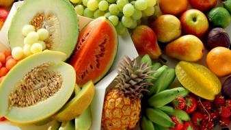 Fruits strong fresh vitamins wallpaper