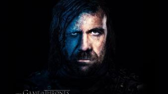 Game of thrones tv series faces the hound Wallpaper