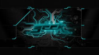 Geek technic wallpaper