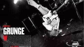 Grunge kurt cobain stage Wallpaper