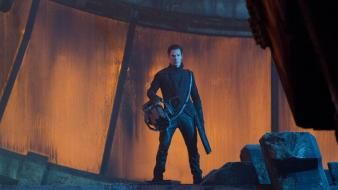 Guns star trek benedict cumberbatch into darkness wallpaper