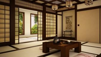 Japan room wallpaper