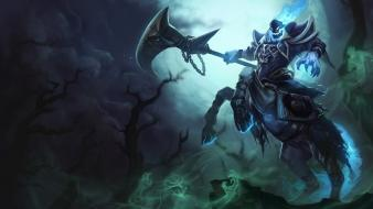 League of legends horses moba game hecarim wallpaper