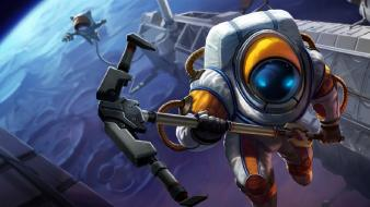 League of legends nautilus moba game Wallpaper