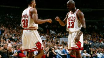 Michael jordan chicago bulls scottie pippen player Wallpaper