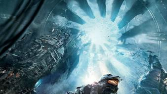 Posters halo 4 343 industries guilty spark wallpaper