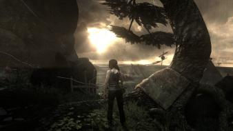 Rain tomb raider sunny rise 2013 wallpaper