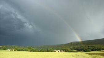 Rainbows toscana monteriggioni Wallpaper