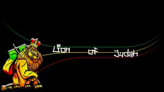 Rastaman lion of judah simply rastafari movement wallpaper