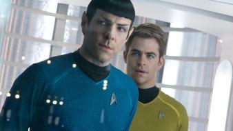Star trek chris zachary quinto into darkness wallpaper