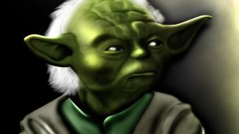 Star wars jedi master yoda 3d there is wallpaper