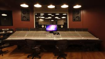 Studio recording wallpaper