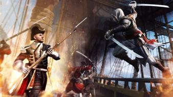 Swords black flag iv 4: edward kenway wallpaper