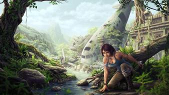 Tomb raider lara croft Wallpaper